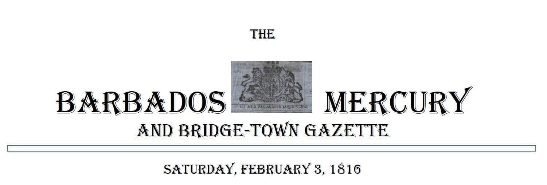 The Barbados Mercury and Bridge-Town Gazette